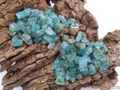 Natural Blue Apatite Teal Aqua Green Apatite by PureSpiritCrystals, £15.00