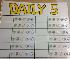 Easily and effectively managing Daily 5 check-ins! Check out this blog post (and a FREEBIE!) at Mrs. Beattie's Classroom!