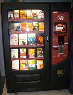 Maquina Vending libros