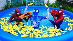 Learn Colors with Baby Corn Pool for Children Finger Family Song Nursery Rhymes Kids Colours - YouTube