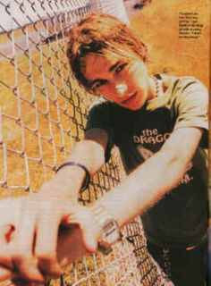 Daniel Johns (Silverchair)- I still remember the first time I saw this picture. I was terrified he was going to die, I knew he was sick. So glad he is healthy now!