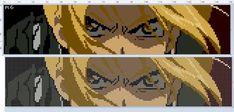 Cool Pixel Art, Pixel Art Grid, Anime Pixel Art, Art Anime, Bead Loom Patterns, Perler Patterns, Cross Stitch Patterns, Diy Perler Beads, Perler Bead Art