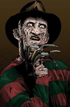 Mezco Nightmare on Elm Street 3 Freddy Krueger Designer Series Standard Scary Movies, Horror Movies, Horror Artwork, Joker Art, Scary Art, Black Cartoon, Classic Monsters, Movie Poster Art, Arte Horror