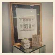 #visualmerchandising #display #louisekennedy #kildarevillage #retail #glassplinth #picture #cushion #doorstop