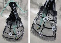 Monster High doll clothes romantic industrial by JonnaJonzon