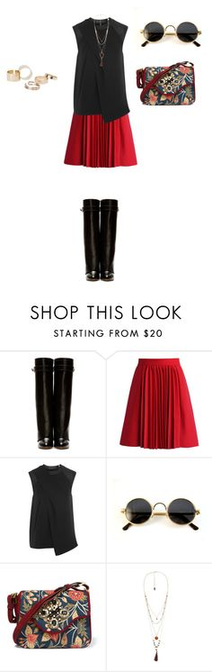 """""""Untitled #808"""" by elenekhurtsilava ❤ liked on Polyvore featuring Givenchy, Chicwish, Alexander Wang, Tory Burch, Violeta by Mango, MANGO, under50 and skirtunder50"""