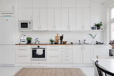 my scandinavian home: A serene white and grey Swedish apartment