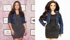 """La modella plus size Ashley Graham ha ispirato una Barbie curvy, chiedendo espressamente che la bambola avesse le """"cosce che si toccano"""" e la cellulite, in linea con il suo desiderio di promuovere ogni tipo di bellezza femminile e di ridefinire i canoni estetici tradizionali"""