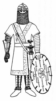 Vendel period warrior