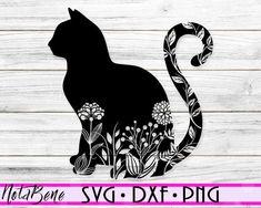 Mandala Cat, Moon Mandala, Cat Template, Cat Clipart, Cat Silhouette, Cat Sitting, Cat Face, Cat Design, How To Draw Hands