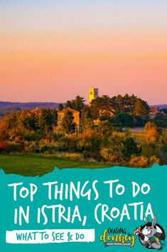 Croatia makes a new 'must-see list' each week, and I agree - you must see it for yourself. Here are the best historic, active & fun things to do in Istria Croatia. Visit Croatia, Croatia Travel, Thailand Travel, Italy Travel, Bangkok Thailand, Best Vacation Spots, Best Vacations, Istria Croatia, Europe Travel Guide