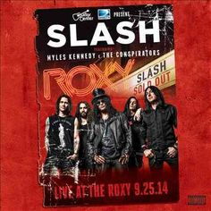 Myles And The Conspirators Kennedy - Live At The Roxy 09.25.14, Red