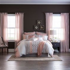 Home Expressions Nina Comforter Set - Products - Bedding Master Bedroom Bedding Master Bedroom, Teen Bedding, Bedding Sets, Bedroom Decor, Bedroom Ideas, Teen Bed Comforters, Rustic Comforter Sets, King Size Comforter Sets, Bedroom Color Schemes