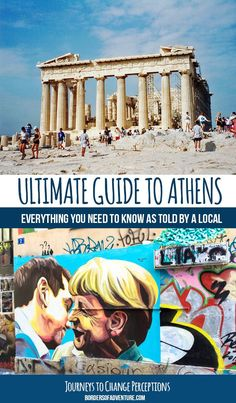 I've pulled together an ultimate guide to Athens – a checklist of what to see, what to do, how to get around and… how to make the most of the locals who are happy to impart their knowledge so that you can get the most out of your stay here. More: www.bordersofadve... #Athens #Greece Travel / Travel Tips / Bucket List