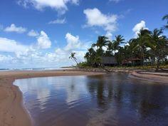 Praia de Algodões, em Maraú. Visite o BrasilGuias