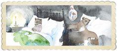 Siskonpeti = makeshift bed