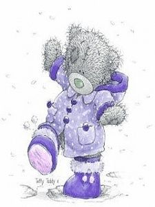 Purple Jacket - Tatty Teddy/Me To You - Halloween Teddy Images, Teddy Pictures, Bear Images, Cute Images, Cute Pictures, Tatty Teddy, Illustration Mignonne, Bear Illustration, My Teddy Bear