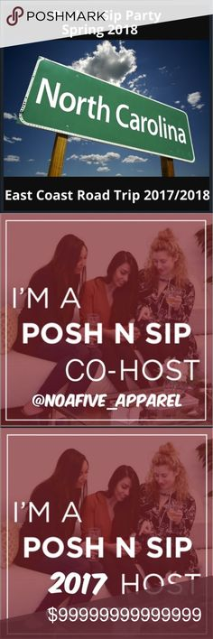 NORTH CAROLINA POSH N SIP MORE DETAILS TO FOLLOW LIKE TO BE NOTIFIED TO RSVP PLACE NAME BELOW!! Other