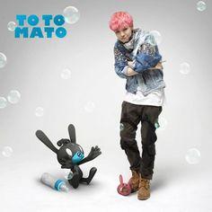 Matoki introduces bunny Totomato with B.A.P member Zelo