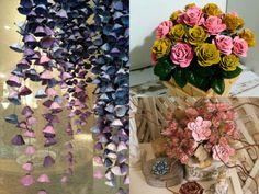 Mikor megláttam ezeket az ötleteket, a szavam is elállt! Nem tudtam, hogy ennyi minden készíthető tojástartókból! - Bidista.com - A TippLista! Diy Crafts Hacks, Decor Crafts, Diy And Crafts, Paper Crafts, Paper Flowers Diy, Flower Arrangements, Crafty, Table Decorations, Handmade