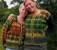 Ruth Sorensen Autumn Cardigan in Kauni Effect Yarn