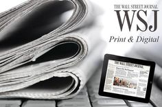 Get The Best Offers On Your Wall Street Journal Subscription From A Top Vendor In Town