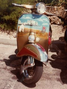 Custom scooters from the 1980s : including Dazzle, Little Rascal and Exile