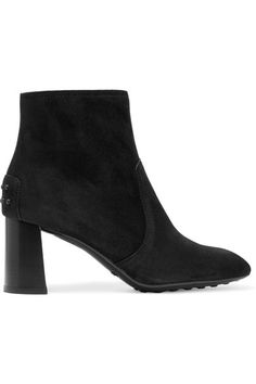 TOD'S Suede Ankle Boots. #tods #shoes #boots