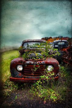 Happy Ford = painting by Distressed Jewell, via Flickr