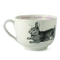 Rabbit Fauna Cups design by Sir/Madam