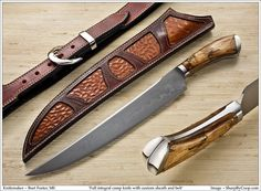 Show me your custom camp knife/chopper. - Page 19