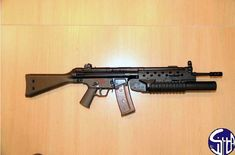 MKEK (Turkey) HK33 with Grenade Launcher and transparent magazine