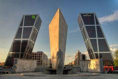 Puerta de Europa, Madrid - Visit Spain Through Stunning Photographs