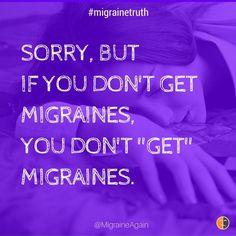 "It's hard to ""get it"" if you've never felt #migraine pain & symptoms. Share a video: http://migraineagain.com/videos/"