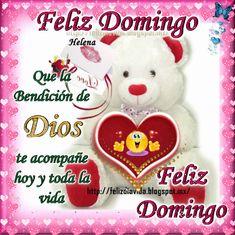 Feliz domingo Que la Bendición de Dios te acompañe hoy y toda la vida Feliz domingo