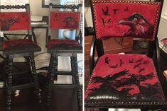 It would be harder to find a greater temple to human creativity than the thrift store. Red Velvet Chair, Velvet Chairs, Victorian Chair, Recycled Art Projects, San Diego Living, Japanese American, Habitat For Humanity, Second Hand, Thrifting