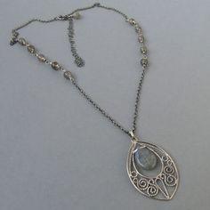 #filigree #necklace #silver  #handmade #amade