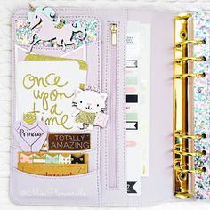 Day 12. Pockets The selling point of the Kikki K planners for me are the pockets. I love decorating them with gorgeous clips from my bestie @cutebydesignco and the lovely @ashleee_l0ve oh and of course lots of glitter!  #plannerdarlingspotd by missplannerella