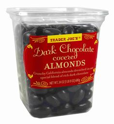 Trader Joe's Dark Chocolate Covered Almonds