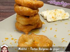 Mekitsi, tortas búlgaras de yogur