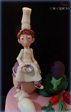 banana mug cake Pretty Cakes, Cute Cakes, Beautiful Cakes, Amazing Cakes, Fondant Toppers, Fondant Cakes, Biscuit, Chef Cake, Cupcakes Decorados