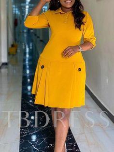 Short African Dresses, Latest African Fashion Dresses, African Print Fashion, Women's Fashion Dresses, Classy Work Outfits, Classy Dress, African Print Dress Designs, Corporate Fashion, Work Dresses For Women