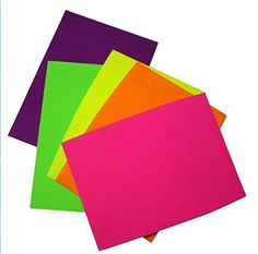 Zap Impex Pack of 10 A4 Size Neon Colored Corrugated Craft Paper Sheets for Decorative Paper Crafts Scrapbooks Posters Hobbies Assorted Colors *** Want additional info? Click on the image.