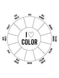 color wheel 2   Cosmetology Haircolor Theory   Pinterest   Color ...