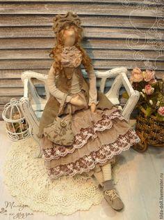 Купить Кукла в стиле Бохо: Синтия ( коллекция Бохо Шик) - тильда, кукла Тильда