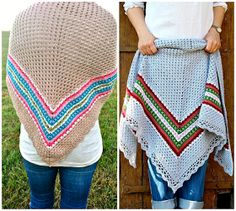 How to block your crochet shawl