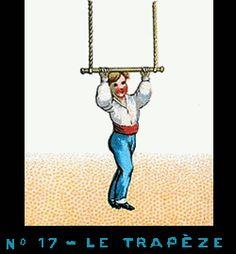 Bande de Praxinoscope n°17 - Le Trapèze