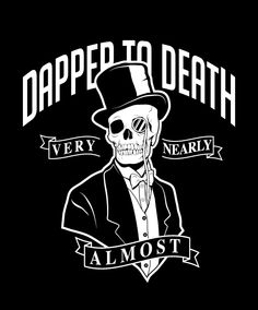 Dapper To Death by Alex Lehours, via Behance