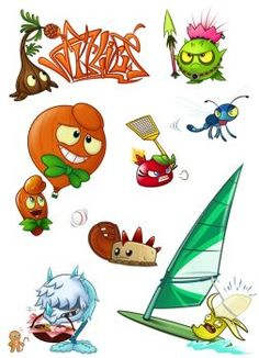Pvz heroes Oc collection by NgTTh on DeviantArt Plant Zombie, Zombie 2, P Vs Z, Overlays Tumblr, V Games, Cupcake Art, Drawing Games, Plants Vs Zombies, Deviantart