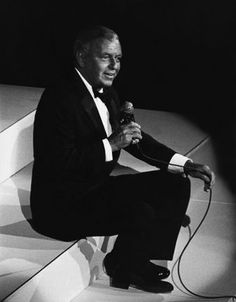 Frank Sinatra in 1983 at a fundraiser at the Waldorf Astoria………………..For more classic 60's and 70's pics please visit & like my Facebook Page at https://www.facebook.com/pages/Roberts-World/143408802354196